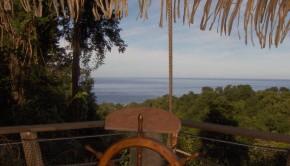 Cabane des Pirates Gouadeloupe- vue Mer