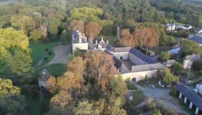 Domaine de St Jean vue aerienne