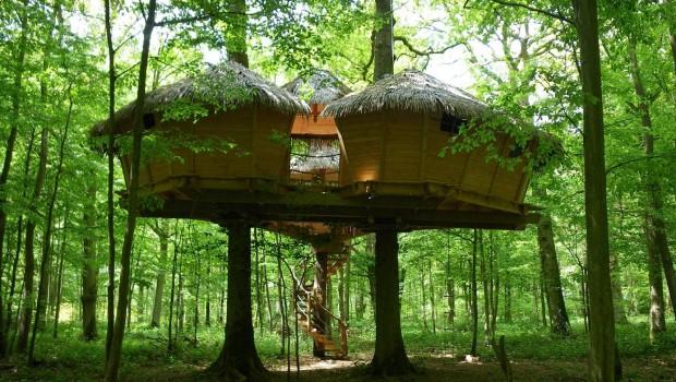 Fontaine Chatel - Cabane Robin des Bois