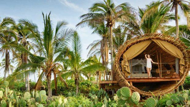les plus belles cabanes de luxe au monde mag la cabane. Black Bedroom Furniture Sets. Home Design Ideas