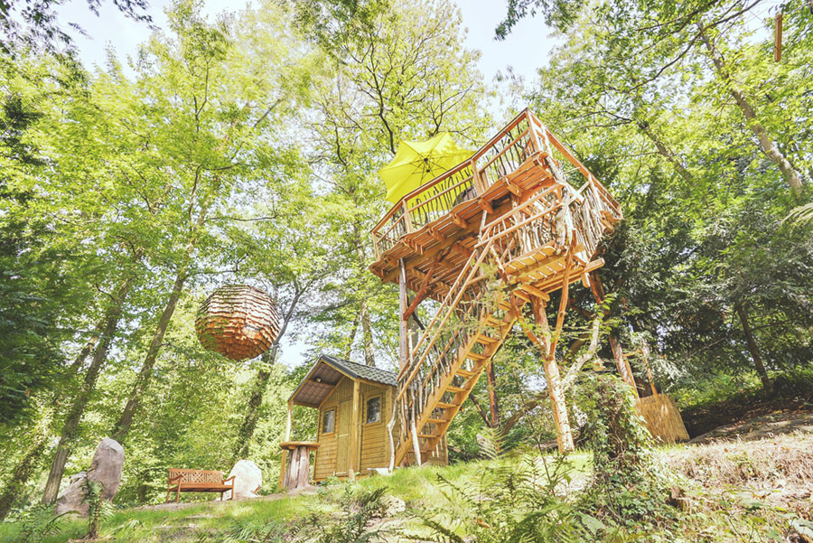 Cabane Spa Cocoon Plume