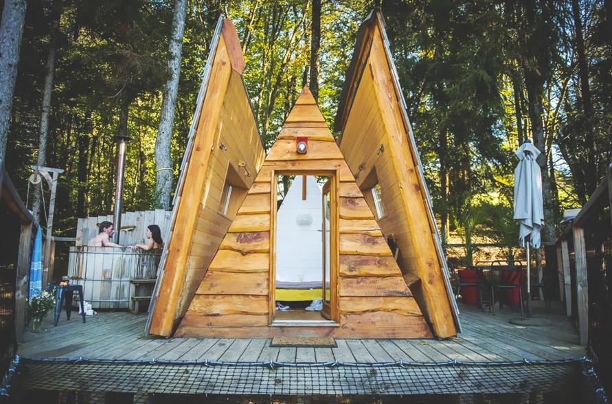 Cabane Spa Belle Étoile