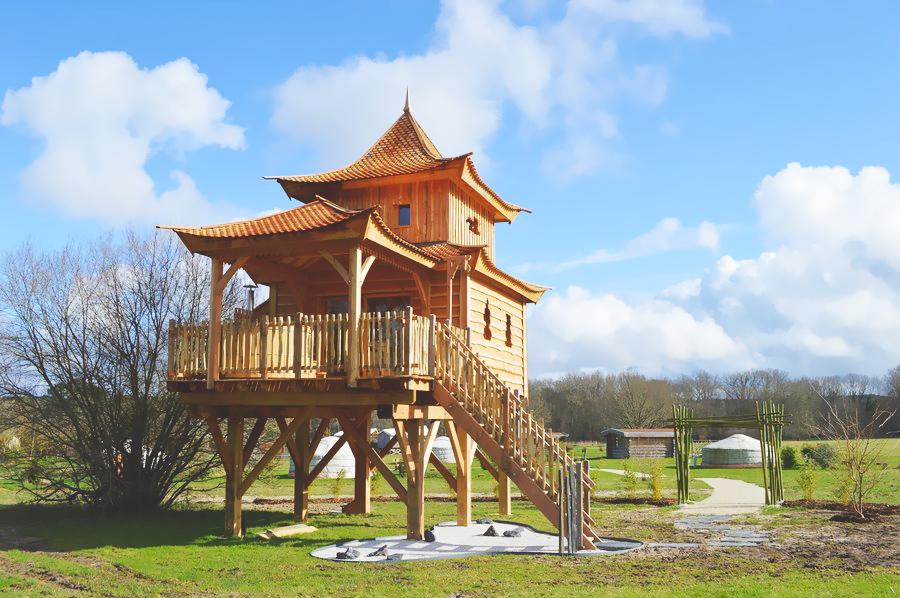 Temple Perché avec Spa Emei Shan