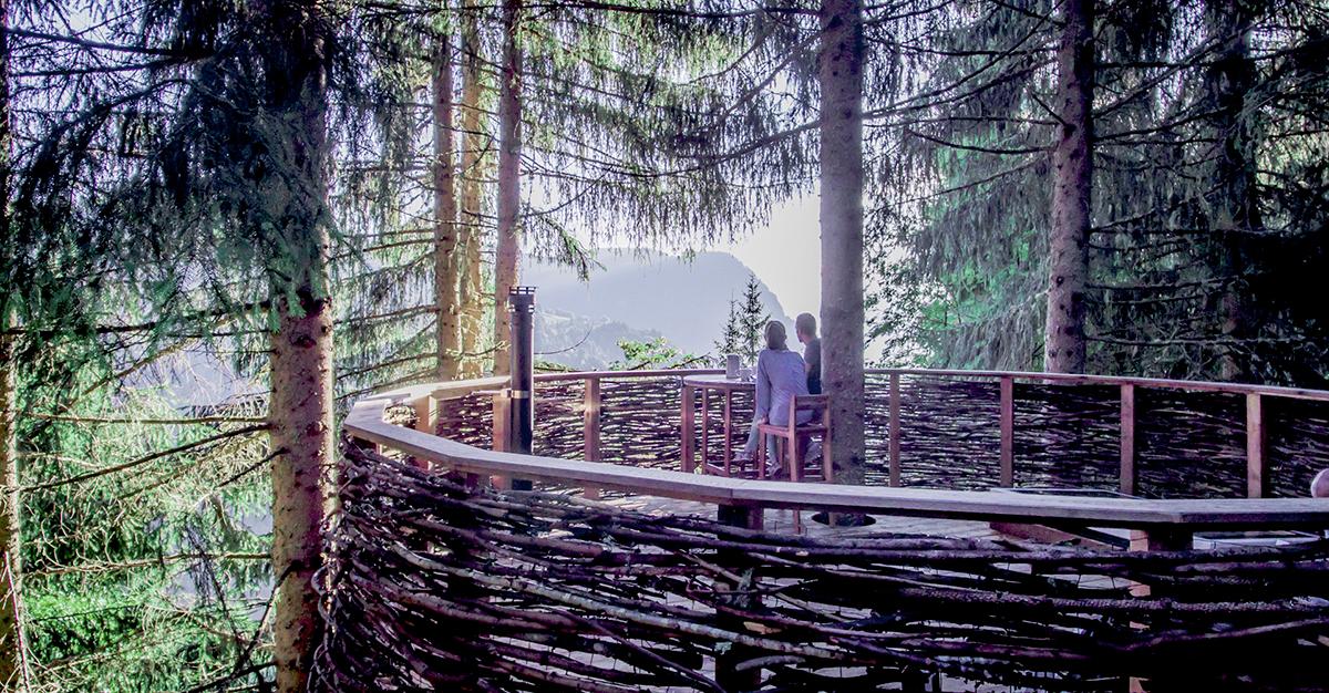 Séjour en couple dans une cabane